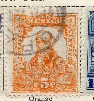 Mexico 1910 Early Issue Fine Used 5c. 074491