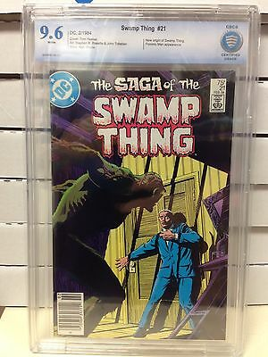 The Saga of Swamp Thing #21 CBCS 9.6