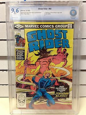 Ghost Rider (1973) #68 CBCS 9.6