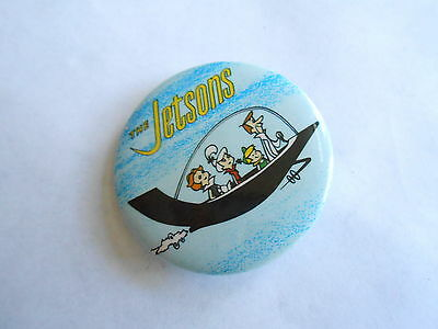 Cool Vintage 1983 Hanna Barbera The Jetson Animation Characters Cartoon Pinback
