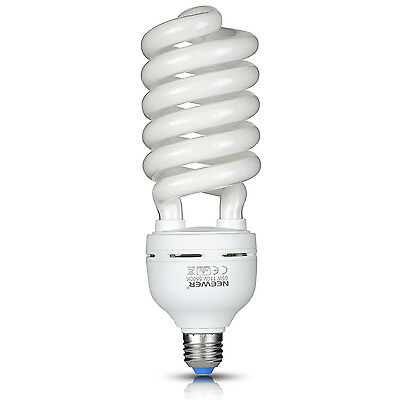 Neewer 65W 110V 5500K Tri-phosphor Spiral CFL Daylight Balanced Light Bulb in