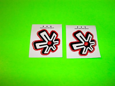 Asterisk Germ Cell Motocross Supercross Racing Knee Braces Stickers Decals