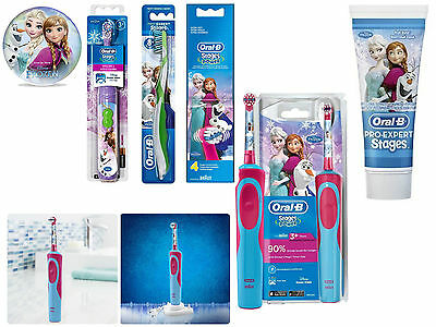 Oral-B Stages Power Kids Disney Toothbrush With Timer App