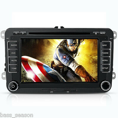"7"" Car DVD Player For VW/Volkswagen/Passat/POLO/GOLF 3G USB GPS IPOD Car Radio"