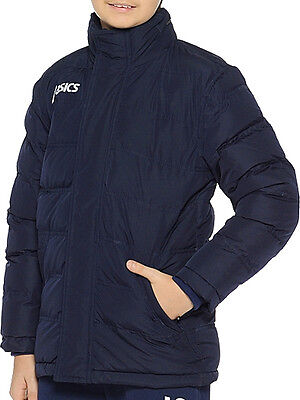 Asics New Alpi Junior Jacket - Navy