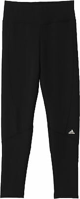 adidas Tech-Fit Junior Long Running Tights - Black