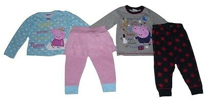 Boys/Girls Pyjamas Official Peppa pig or George Pig