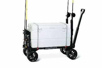 Mighty Max Cart SU600D Sports Fishing and Utility Cart Black
