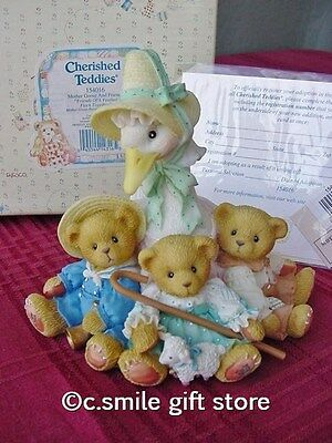 Cherished Teddies MOTHER GOOSE: FRIENDS FEATHER Enesco 154016 MIB