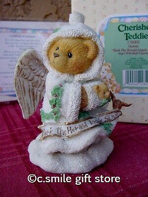 Cherished Teddies *STORMI* Ltd Ed #176001 1st issue Angel Series Enesco MIB Ret
