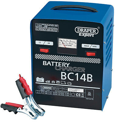 Genuine DRAPER Expert 12V/24V 12A Battery Charger | 5597