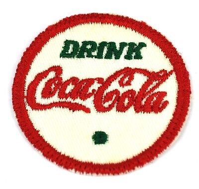 Drink Coca Cola Coke USA Bügelflicken Uniform Aufnäher Emblems Patch grün-rot