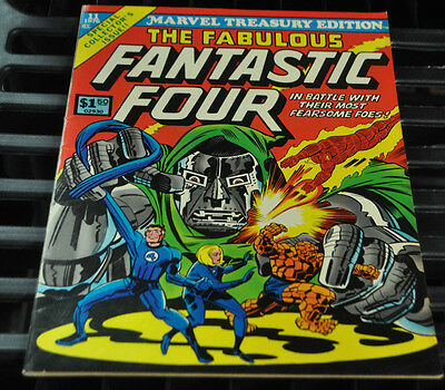 Marvel Treasury Edition #11 The Fantastic Four Fine