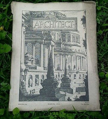 Vintage 1927 The Architect Magazine Many Building Material Advertisments