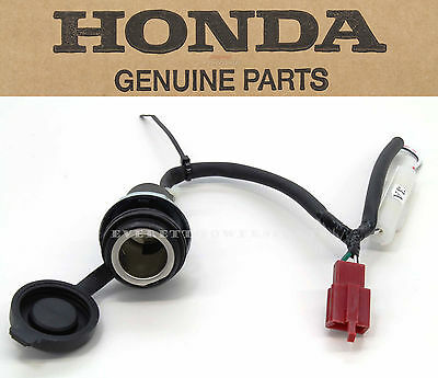 New Genuine Honda Accessory Socket GL1800 F6B 12V Outlet Plug DC Electrical #N27