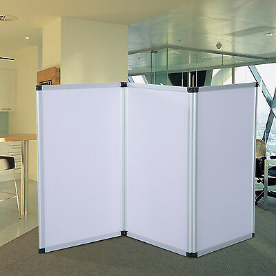 Display Boards 3 Panel Advertise Exhibition Roll UP Stand Show Banner 1.8m