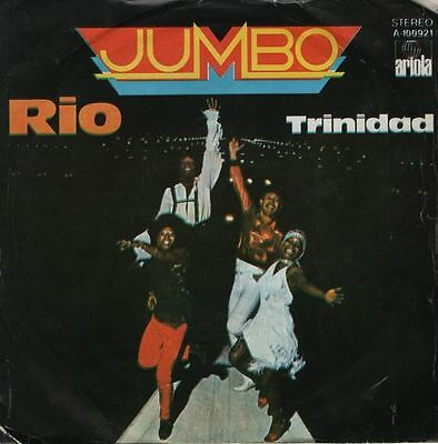 "JUMBO - Rio / Trinidad - r@re Spanish 7"" single 45 Spain 1980"