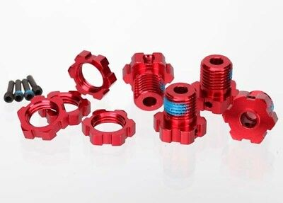Traxxas WHEEL HUBS, SPLINED, 17MM RED - TRX5353R