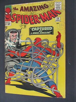 Amazing Spider-Man( 1963)  # 25  1st Mary Jane  US Marvel Very good 4.0