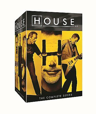House M.D.: Complete TV Series Seasons 1 2 3 4 5 6 7 8 DVD Boxed Set NEW!