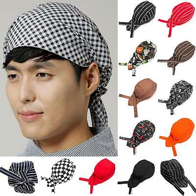 Baotou Skull Cap Chef Hats Professional Catering Various Colourfull Chef Caps