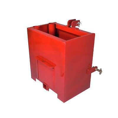Titan Attachments Ballast Box for 3 Point Category 1 Tractor and Loader Hitches