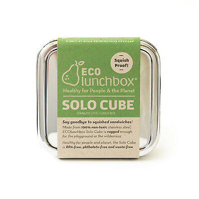 ECOlunchbox Solo Cube Stainless Steel Food Storage Container