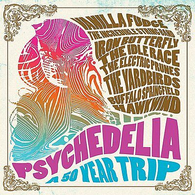 PSYCHEDELIA A 50 YEAR TRIP 2CD ALBUM SET (Released July 15th 2016)