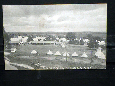 Military - General View showing Century Range (Pirbright Camp) 1907