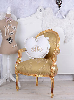 LOUIS XVI MEDALLION CHAIR FRENCH ROCOCO Armchair Baroque armchair