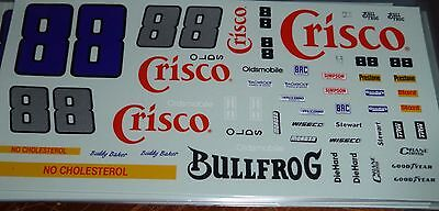 JnJ NASCAR DECALS #88 CRISCO BUDDY BAKER OLDS