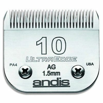 Andis Pet UltraEdge Detachable Blade, Size 10 (64071) Fits Oster a5 and agc2