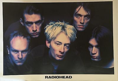 Radiohead English Poster Of The Group 36 X 24