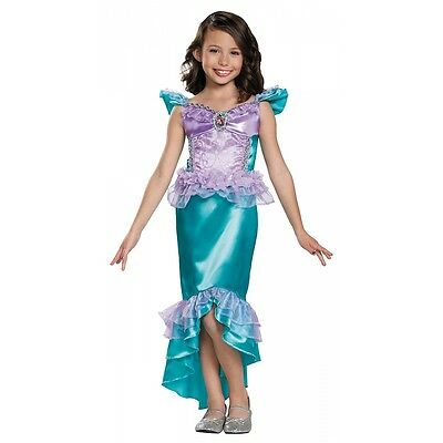 Ariel Classic Costume The Little Mermaid Halloween Fancy Dress