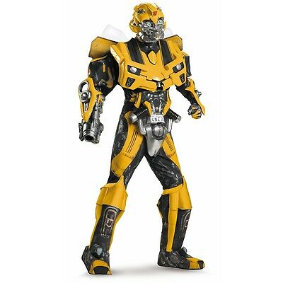 Bumblebee Costume Adult Super Dlx Theatrical Transformers Halloween Fancy Dress