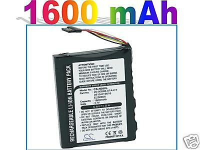 Fit PDA Acer N35, N35se, Airis NC05, NC05A battery (Ext