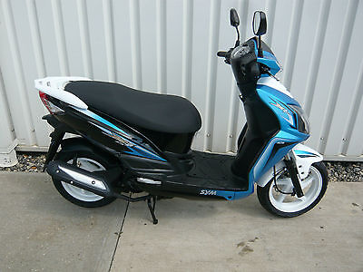 Sym jet 4 125cc Scooter Moped Brand New 2014
