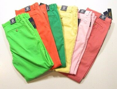 Polo Ralph Lauren Men's Straight Fit Bedford Cotton Twill Chino Pants $98