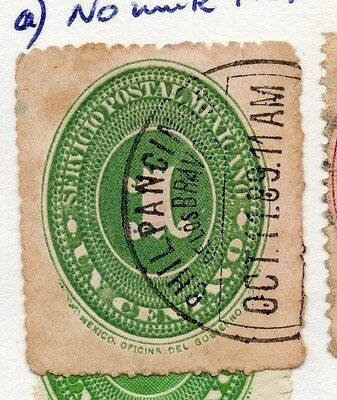 Mexico 1886 Early Issue Fine Used 1c. 076457