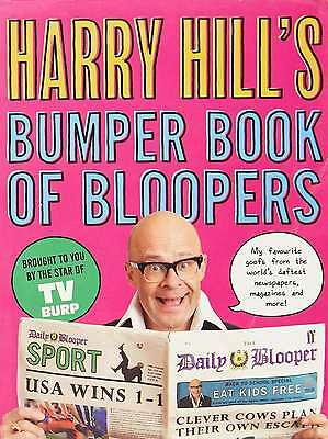 Harry Hill's Bumper Book of Bloopers, Hill, Harry, New Book