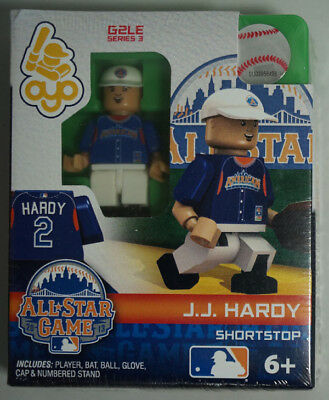 J.J. Hardy  #2 All-Star Game G2LE Series 3 Limited Edition OYO MiniFigure