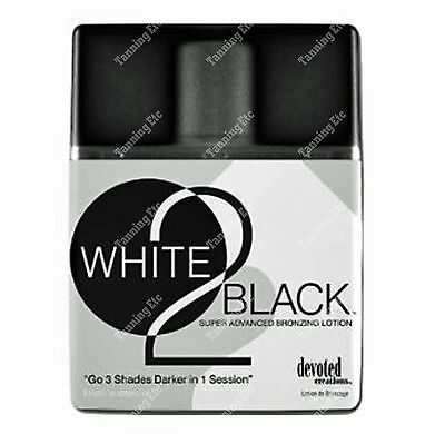 *NEW* Devoted Creations WHITE 2 BLACK 250ml sunbed tan