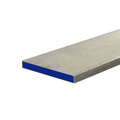 "304 Stainless Steel Flat Bar, 1/4"" x 2-1/2"" x 12"""