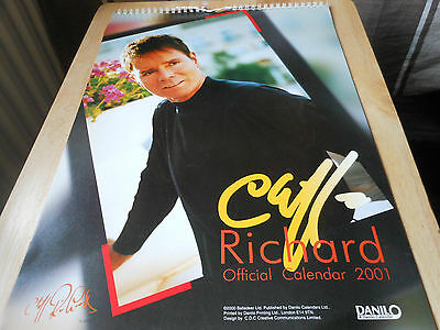 CLIFF RICHARD 2001 the official one with very nice layout of pictures