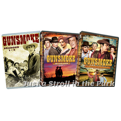 Gunsmoke: TV Series Complete Seasons 1 2 3 4 5 Box / DVD Set(s) NEW!