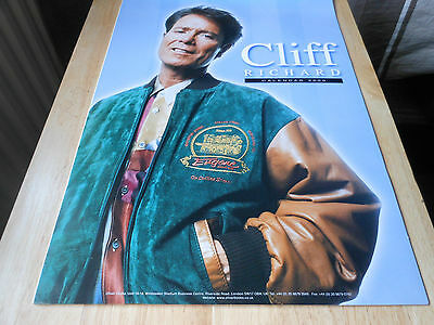 CLIFF RICHARD 2000 calendar with dates at bottom of pages