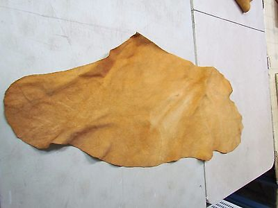 "Moose Hide Native American Dark H Tanned Hide Soft 44"" In By 18"" In"