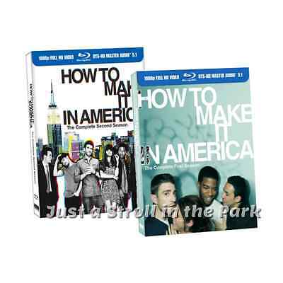 How to Make it in America Complete Series Seasons 1 & 2 Box / Blu-Ray Set(s) NEW