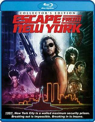 Escape from New York - BLU-RAY Region 1 Free Shipping!