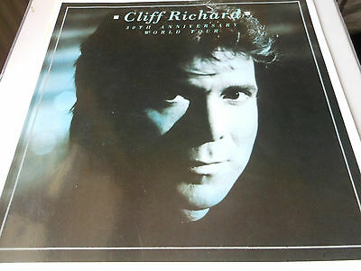CLIFF RICHARD 30th ANNIVERSARY WORLD TOUR booklet
